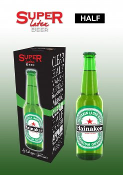 SUPER LATEX BEER (HALF) - GREEN COLOR