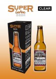 SUPER LATEX BEER (CLEAR) - BROWN COLOR