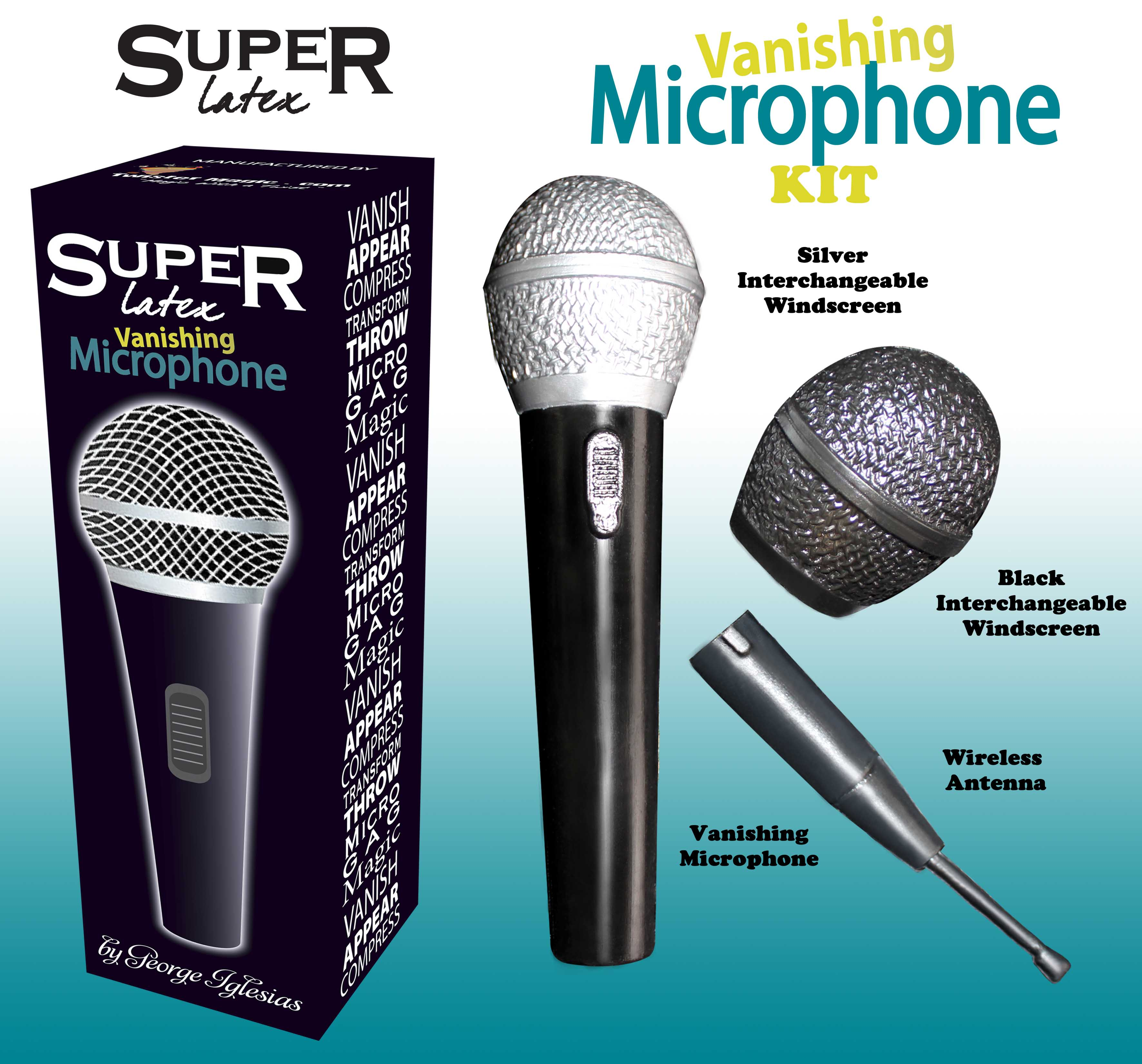 VANISHING MICROPHONE KIT - Click Image to Close